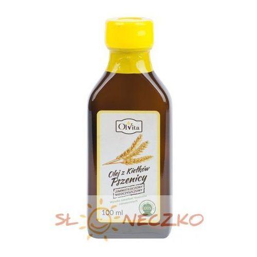 olej z kiełków pszenicy tłoczony na zimno 100ml Olvita