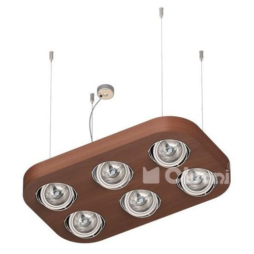 lampa wisząca ALPHA D4Wd LED111, CLEONI T065D4Wd+