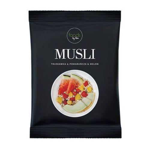 Foods by ann Musli truskawka-pomarańcza-melon 50g  (5906395748501)