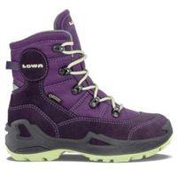 Nowe buty rufus iii gtx hi blackberry/mint rozmiar 31/19,5cm marki Lowa