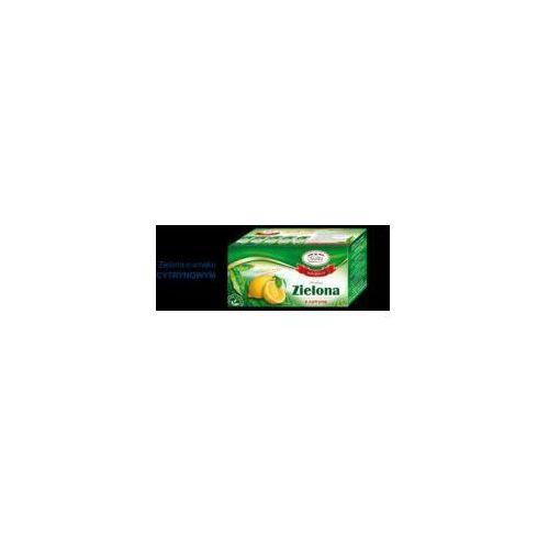 Herbata zielona o smaku cytrynowym EX'20 Malwa (5902781000475)