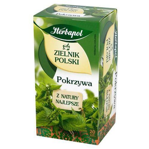 HERBAPOL 20x1,5g Zielnik Polski Pokrzywa Herbata ziołowa