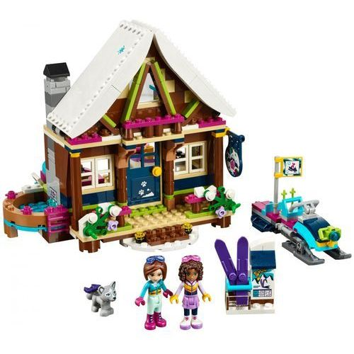 Lego FRIENDS Górski domek snow resort chalet 41323