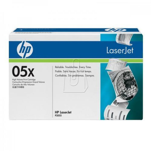 HP oryginalny toner CE505X, black, 6500s, 05X, high capacity, HP LaserJet P2055