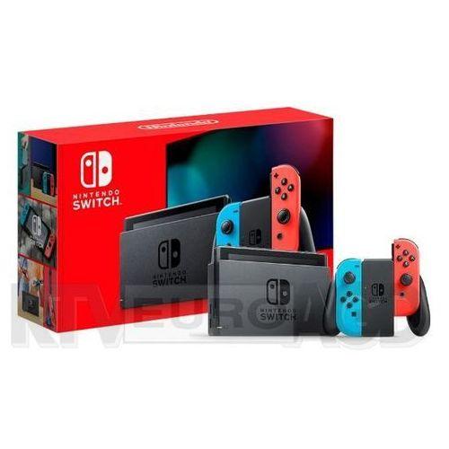 Nintendo switch joy-con v2 (czerwono-niebieski) nowy model 2019 nhs002 (0045496452629)