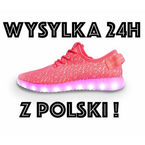 Świecace BUTY LED podswietalna podewsza wysylka z Polski 24h