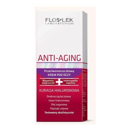 Flos-lek Floslek anti aging kuracja hialiuronowa krem pod oczy 30ml (5905043003771)