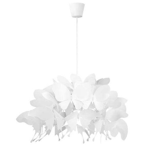LAMPA wisząca FARFALLA LP-3439/1P white Light Prestige dekoracyjna OPRAWA do pokoju dziecięcego zwis motyle białe (1000000487879)