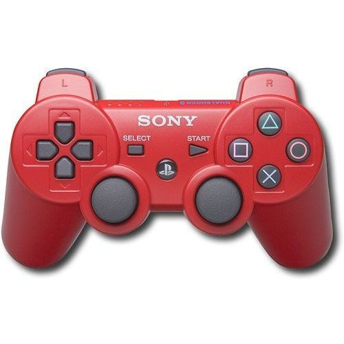 Gamepad pad dualshock 3 ps3 czerwony marki Sony. Tanie oferty ze sklepów i opinie.