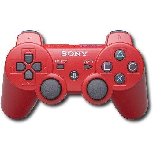 Gamepad Pad Sony Dualshock 3 PS3 Czerwony - OKAZJE