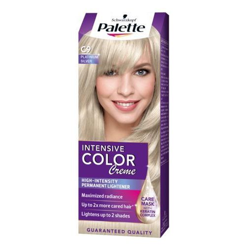 PALETTE Intensive Color Creme C9 Srebrzysty blond Farba do włosów, 3838824197197