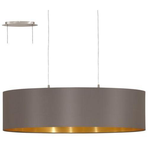 31614 - lampa wisząca maserlo 2xe27/60w/230v marki Eglo