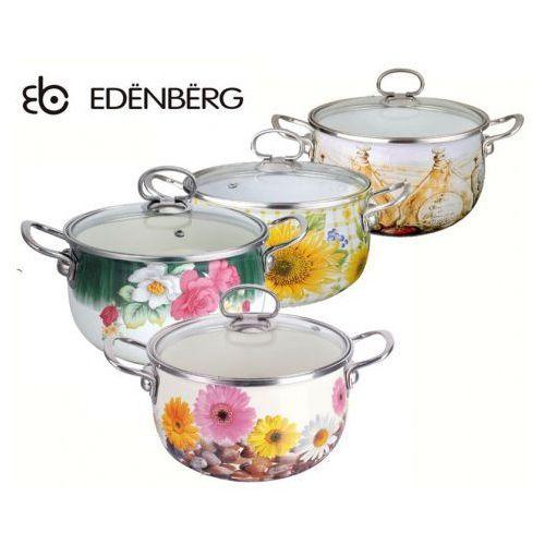 GARNEK EMALIOWANY 4.2L EDENBERG FLOWERS [EB-1783], EB-1783