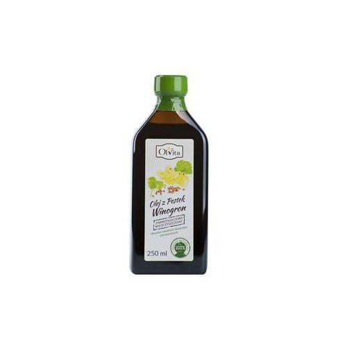 Olej winogronowy zimnotłoczony 250ml Olvita