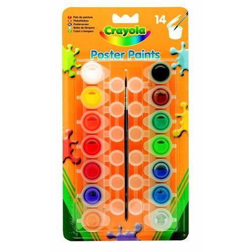 Crayola Farby plakatowe 14 szt. (5010065039780)
