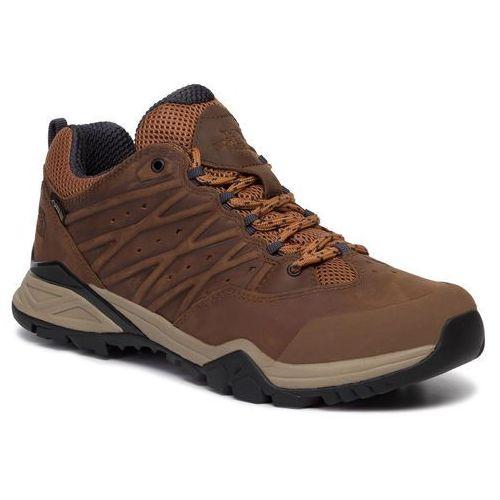 Trekkingi - hedgehog hike ii gtx gore-tex nf0a39hzh07 timber tan/india ink marki The north face