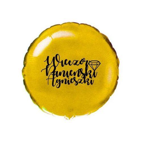 Flexmetal balloons Balon foliowy okrągły personalizowany na wieczór panieński - 46 cm - 1 szt. (5907509915765)