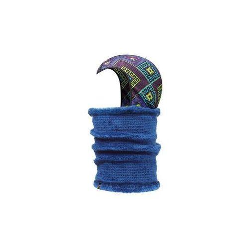 Neckwarmer & Head-Liner Buff KADSU/TWILIGHT BLUE - KADSU/TWILIGHT BLUE \ Niebieskiego