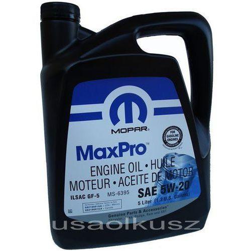 Olej silnikowy 5w20 gf-5 ms-6395 5l marki Mopar