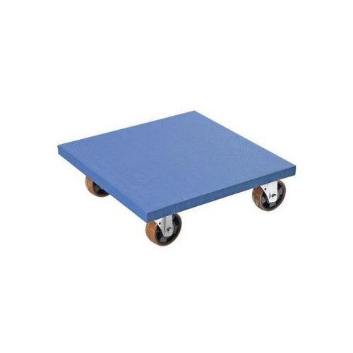 Wózek podmeblowy, dł. x szer. x wys. 600x600x185 mm, od 5 szt. Ze sklejki bukowe
