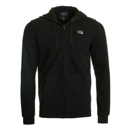FOX bluza męska DISTRICT 1 ZIP L czarna, kolor czarny