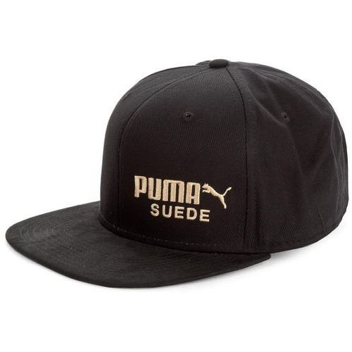 Czapka z daszkiem Puma Archive Suede 02148901, kolor czarny
