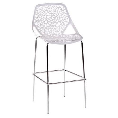 D2 1160 stołek barowy cepelia biały