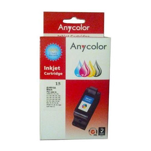 Zastępczy atrament hp 15 [c6615de] black marki Anycolor