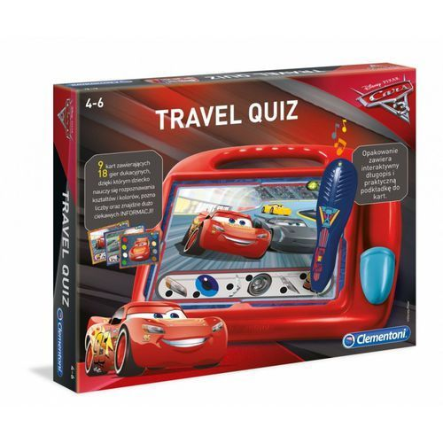 Travel Quiz Cars - Clementoni (8005125609666)