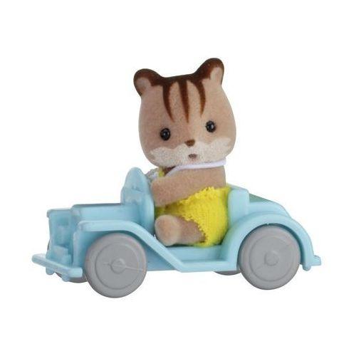 Sylvanian Families, Przenośny zestaw dla dziecka (wiewiórka na samochodziku) - EPOCH