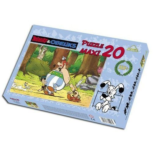 Axel. Asteriks&Obeliks. W lesie - puzzle, 20 elementów - Axel (5907513771371)