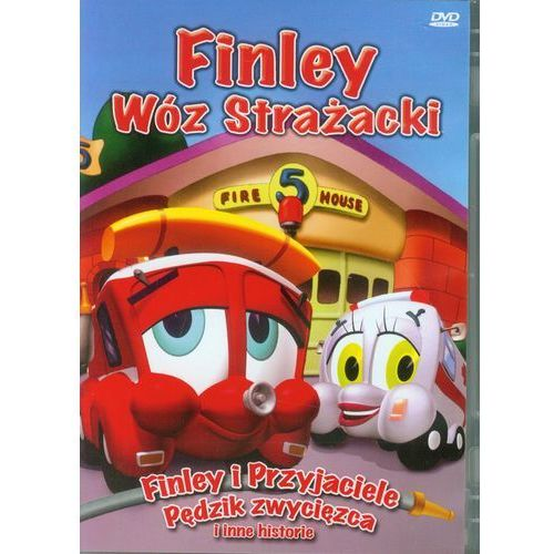 Cass film Finley wóz strażacki finley i przyjaciele pędzik zwycięzca