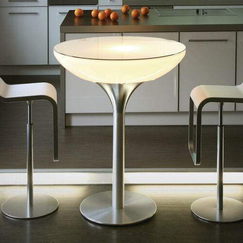Moree Okrągły stół świecący lounge, wysokość 105 cm