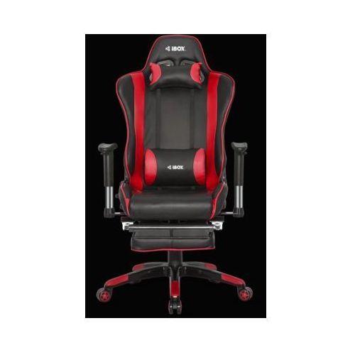 Fotel gamingowy IBOX Aurora GT1 Czerwony- natychmiastowa wysyłka, ponad 4000 punktów odbioru!