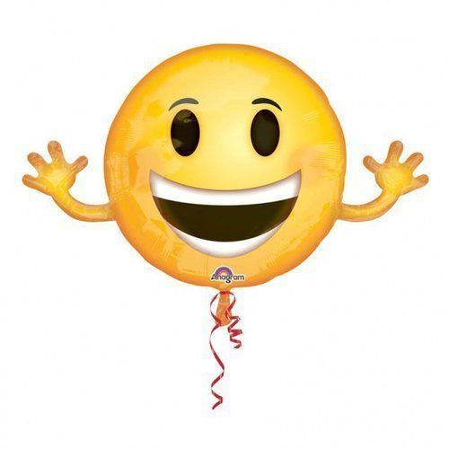 Balon foliowy emoticon 99 x 58 cm, 5_630443