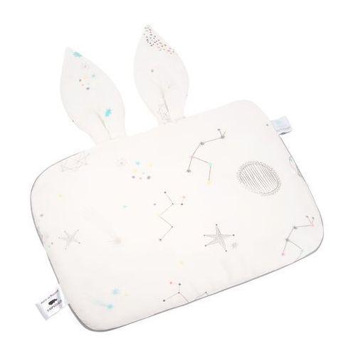 Samiboo Jasiek dla niemowląt bambusowy z uszami : galaktyka-biały