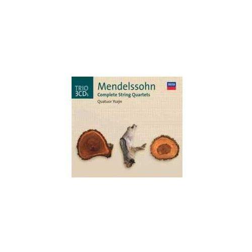 Mendelssohn cpl. string quartets marki Universal music / decca
