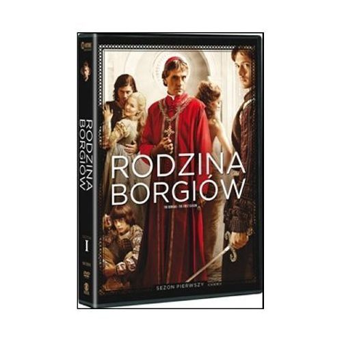 Rodzina Borgiów - sezon 1 (3xDVD) - Neil Jordan DARMOWA DOSTAWA KIOSK RUCHU (5903570152412) - OKAZJE