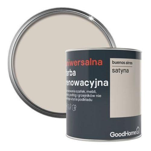 Farba renowacyjna uniwersalna GoodHome buenos aires satyna 0,75 l