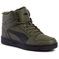 Sneakersy PUMA - Puma Rebound Layup SL Fur 36983004 04 Forest Night/Puma Black, kolor zielony