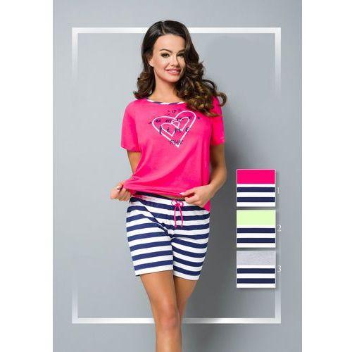 Piżama Regina 859 kr/r S-XL L, szary/melange jasny. Regina, L, M, S, XL, 1 rozmiar