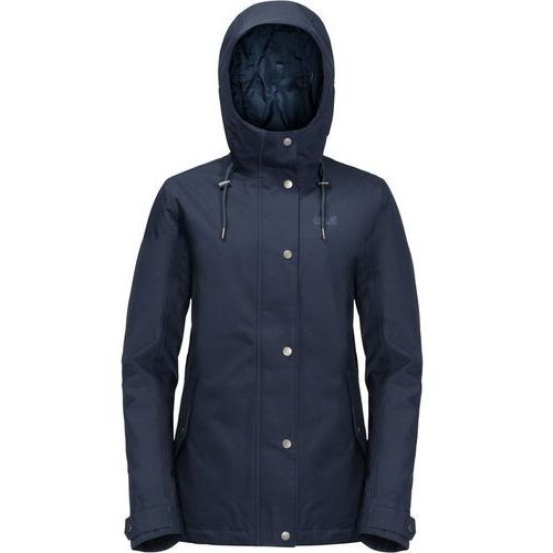 Jack wolfskin mora kurtka kobiety niebieski s 2018 kurtki przeciwdeszczowe
