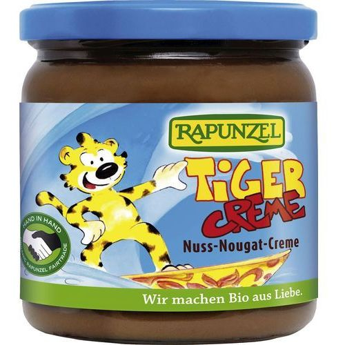 """Rapunzel (kremy orzechowe, kostki, ketchupy, inne Krem orzechowo-czekoladowy """"tiger"""" bio 400 g - rapunzel (4006040076896)"""