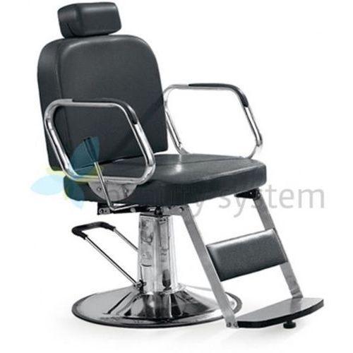 Beauty system Fotel fryzjerski - dla golibrody axel bd-2002 czarny