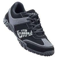 Buty sznurowane bonprix czarny