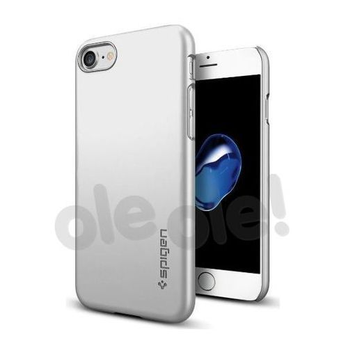 Spigen thin fit 042cs20733 iphone 7 (srebrny) - produkt w magazynie - szybka wysyłka!