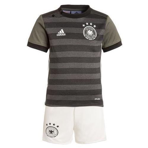adidas Performance DFB GERMANY Koszulka reprezentacji dark grey/offwhite/green, kolor szary