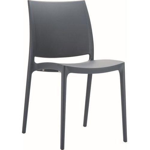 Krzesło Aruka - grafitowy, 22855