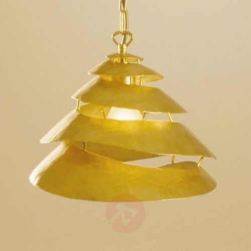 Holländer snail one lampa wisząca złoty, 1-punktowy - klasyczny - obszar wewnętrzny - one - czas dostawy: od 8-12 dni roboczych (4250151300429)