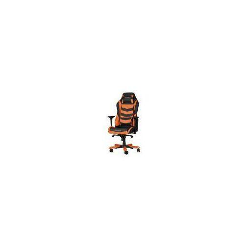 Dxracer Fotel  iron, czarno-pomarańczowy (oh/is166/no) szybka dostawa! darmowy odbiór w 20 miastach!